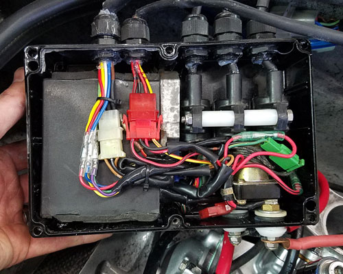 1100    1200 Electrical Control Box Diy Kit